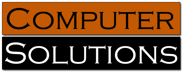 COMPUTER SOLUTIONS - IT Computer Repair, Support, Sales & Consulting.